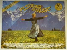 THE SOUND OF MUSIC (1965) - LATER RELEASE - BIOGRAPHY / DRAMA FAMILY - JULIE ANDREWS / CHRISTOPHER