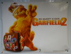 GARFIELD 2 (2006) - ADVANCE POSTER - ANIMATION / COMEDY / FAMILY - UK QUAD FILM / MOVIE POSTER -
