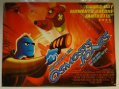 OSMOSIS JONES (2001) - MAIN DESIGN - ANIMATION / ACTION / ADVENTURE - UK QUAD FILM POSTER - ROLLED