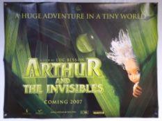 ARTHUR AND THE INVISIBLES (2007) - ADVANCE DESIGN - ANIMATION / ADVENTURE / FAMILY - MIA FARROW /