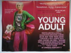 YOUNG ADULT (2011) - ADVANCE DESIGN POSTER - COMEDY / DRAMA - UK QUAD FILM / MOVIE POSTER - ROLLED