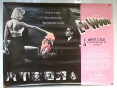 ED WOOD (1994) - BIOGRAPHY / COMEDY / DRAMA - JOHNNY DEPP / MARTIN LANDAY / SARAH JESSICA PARKER -