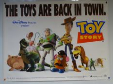 TOY STORY (1995) - PIXAR / ANIMATION / FAMILY - TOM HANKS - UK QUAD FILM / MOVIE POSTER - ROLLED