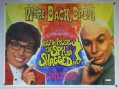 AUSTIN POWERS 'THE SPY WHO SHAGGED ME' (1999) - ADVANCE TEASER MOVIE POSTER - COMEDY / ACTION - MIKE