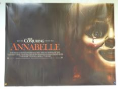 ANNABELLE (2014) - HORROR / MYSTERY / THRILLER - UK QUAD FILM / MOVIE POSTER - ROLLED AS ISSUED