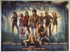 ROCK OF AGES (2012) - MAIN DESIGN POSTER - COMEDY / DRAMA / MUSICAL - UK QUAD FILM / MOVIE