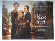 THE BOOK THIEF (2013) - ADVANCE POSTER - DRAMA / WAR - GEOFFREY RUSH / EMILY WATSON - UK QUAD FILM /