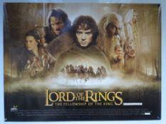 THE LORD OF THE RINGS 'THE FELLOWSHIP OF THE RING' (2001) - ACTION / FANTASY - IAN MCKELLAN / ELIJAH