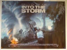INTO THE STORM (2014) - ACTION / THRILLER - UK QUAD FILM / MOVIE POSTER - ROLLED AS ISSUED
