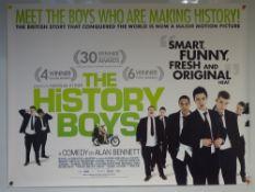 THE HISTORY BOYS (2006) - MAIN DESIGN POSTER - COMEDY / DRAMA / ROMANCE -UK QUAD FILM / MOVIE POSTER