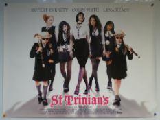 ST TRINIANS (2007) - COMEDY / FAMILY - RUPERT EVERETT / COLIN FIRTH / LENA HARDY - UK QUAD FILM /