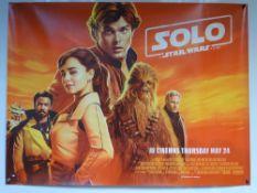 SOLO: A STAR WARS STORY (2018) - ADVANCE DESIGN - ACTION / ADVENTURE / FANTASY / STAR WARS - ALDEN