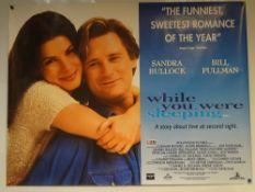 WHILE YOU WERE SLEEPING (1995) - COMEDY / DRAMA / ROMANCE - SANDRA BULLOCK / BILL PULLMAN - UK