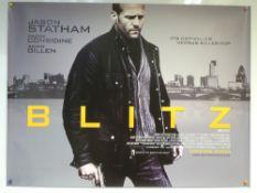 BLITZ (2011) - ADVANCE DESIGN POSTER - ACTION / CRIME / THRILLER - UK QUAD FILM / MOVIE POSTER -