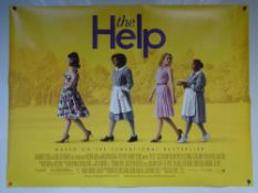 THE HELP (2011) - DRAMA - EMMA STONE / VIOLA DAVIS - UK QUAD FILM / MOVIE POSTER - ROLLED AS ISSUED