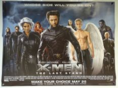 XMEN 'THE LAST STAND' (2006) - ACTION / FANTASY / MARVEL - HUGH JACKMAN / HALLE BERRY / PATRICK