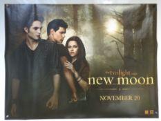 THE TWILIGHT SAGA: NEW MOON (2009) - ADVANCE DESIGN MOVIE POSTER - ADVENTURE / DRAMA / FANTASY -