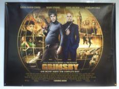 GRIMSBY (2016) - ADVANCE DESIGN POSTER - ACTION / ADVENTURE / COMEDY - UK QUAD FILM / MOVIE POSTER -