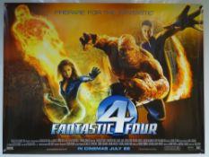 FANTASTIC 4 (2005) - ADVANCE DESIGN - MARVEL / SUPERHERO / ACTION / ADVENTURE - JESSICA ALBA /