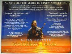 WATERWORLD (1995) - CRITICS POSTER - ACTION / ADVENTURE / SCI-FI - KEVIN COSTNER - UK QUAD FILM /