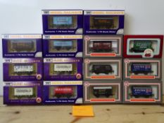 OO GAUGE MODEL RAILWAYS: A group of boxed DAPOL wagons as lotted - VG/E in G/VG boxes (14) #14
