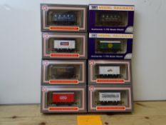 OO GAUGE MODEL RAILWAYS: A group of boxed DAPOL wagons - all WRENN Collectors' Club limited editions
