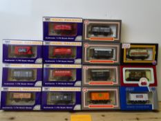 OO GAUGE MODEL RAILWAYS: A group of boxed DAPOL wagons as lotted - VG/E in G/VG boxes (14) #7