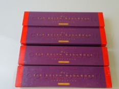 OO GAUGE MODEL RAILWAYS: A group of HORNBY empty Class A4 locomotive boxes from the 'Sir Ralph