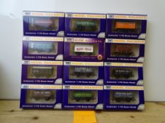 OO GAUGE MODEL RAILWAYS: A group of boxed DAPOL wagons as lotted - VG/E in G/VG boxes (12) #9
