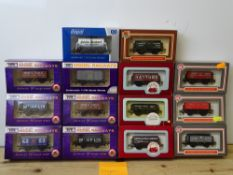 OO GAUGE MODEL RAILWAYS: A group of boxed DAPOL wagons - all limited editions - as lotted - VG/E