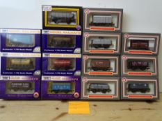 OO GAUGE MODEL RAILWAYS: A group of boxed DAPOL wagons as lotted - VG/E in G/VG boxes (14) #4