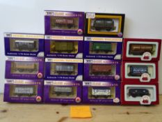 OO GAUGE MODEL RAILWAYS: A group of boxed DAPOL wagons as lotted - VG/E in G/VG boxes (14) #3
