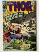THOR # 132 (1966 - MARVEL - Cents Copy with Pence Stamp) - First appearance of Ego the Living Planet