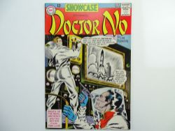 SHOWCASE: JAMES BOND - DOCTOR NO # 43 (1963 - DC - Cents Copy) - HIGH GRADE - Comic book adaption of