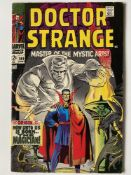 DOCTOR STRANGE #169 - (1968 - MARVEL - Cents Copy with Pence Stamp) - Debut issue of Doctor