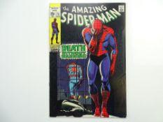 AMAZING SPIDER-MAN # 75 - (1969 - MARVEL - Cents Copy) - 'Death' of Silvermane + Lizard cameo - John