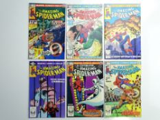 AMAZING SPIDER-MAN # 216, 217, 218, 219, 220, 221 (Group of 6) - (1981 - MARVEL - Cents & Pence