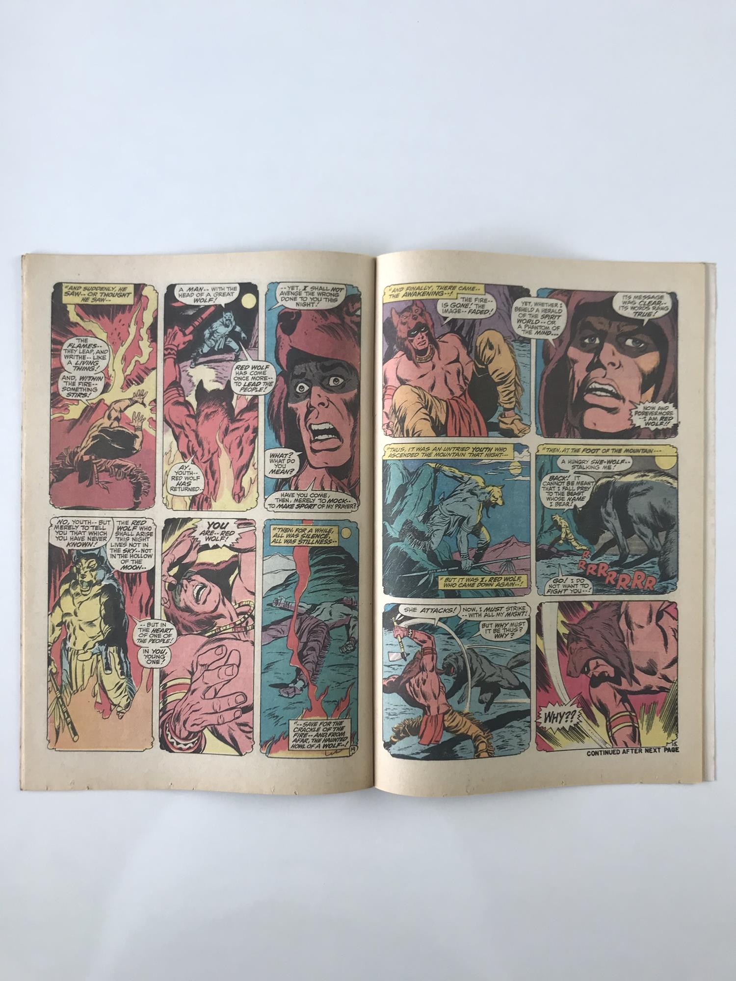 Lot 46 - AVENGERS # 80 (1970 - MARVEL - Pence Copy) - First appearance and origin of Red Wolf - John