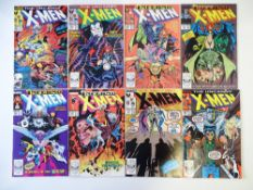 UNCANNY X-MEN # 238, 239, 240, 241, 242, 243, 244, 245 (Group of 8) - (1988/89 - MARVEL Cents/