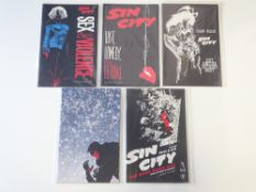 SIN CITY LOT (Group of 5) - (DARK HORSE - Cents Copy) - All First Prints - Includes SEX &