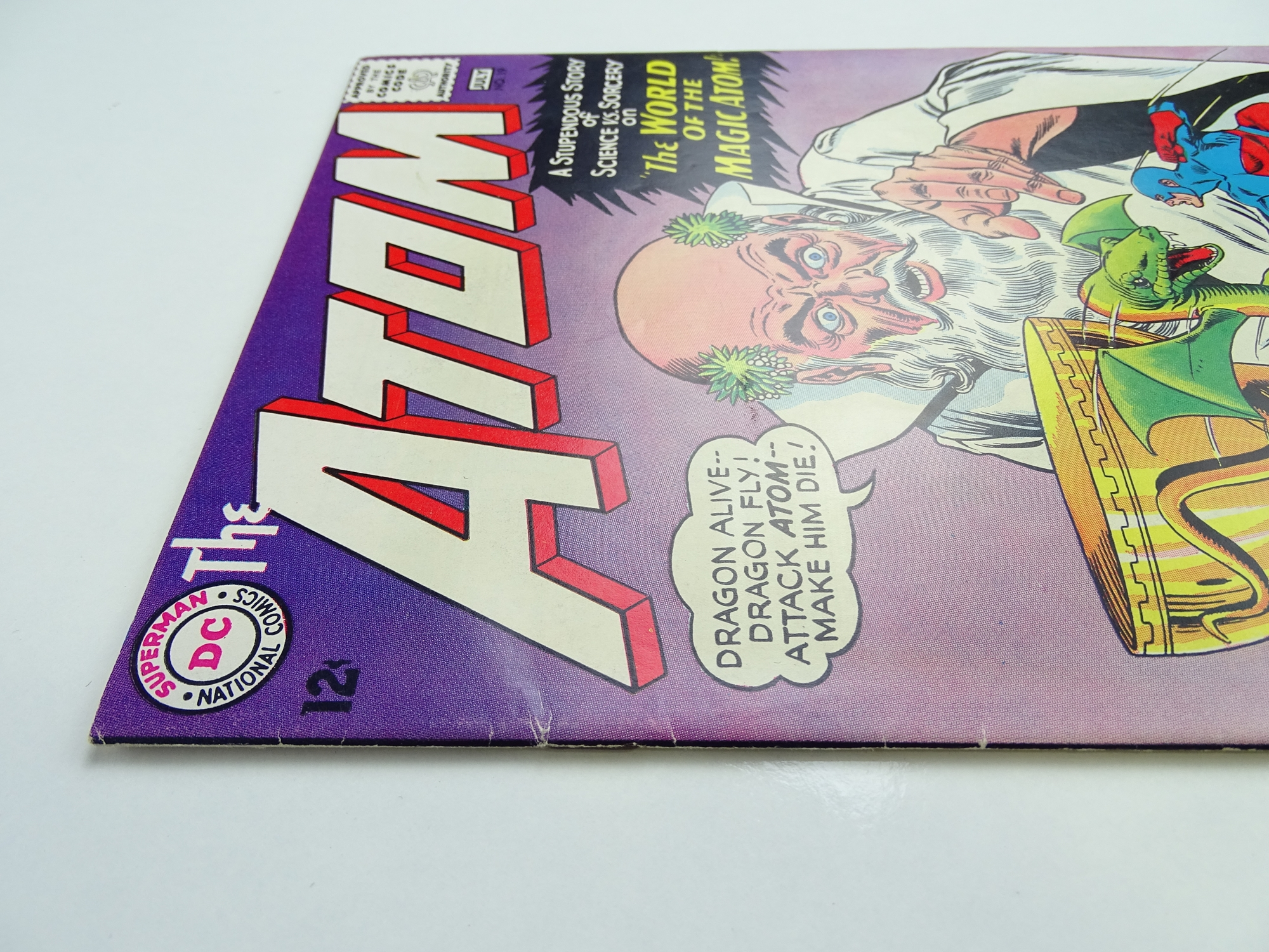 Lot 58 - ATOM # 19 (1965 - DC - Cents Copy) - Second appearance of Zatanna - Gil Kane, Murphy Anderson, Sid