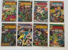 DEFENDERS # 22, 24, 25, 26, 27, 28, 29, 30 (Group of 8) - (1975 - MARVEL Pence Copy) - Flat/Unfolded