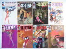 ELEKTRA: ASSASSIN# 1, 2, 3, 4, 5, 6, 7, 8 (Group of 8) - (1986/87 - MARVEL - Cents Copy) -