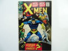 UNCANNY X-MEN # 39 - (1967 - MARVEL - Cents Copy with Pence Stamp) - X-Men don new costumes and