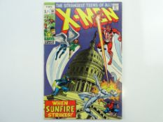 UNCANNY X-MEN # 64 - (1970 - MARVEL - Pence Copy) - First appearance of Sunfire - Tom Palmer cover