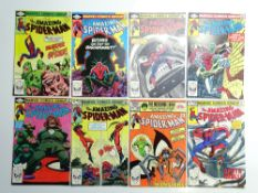 AMAZING SPIDER-MAN # 228, 229, 230, 231, 232, 233, 235, 236 (Group of 8) - (1982/83 - MARVEL - Cents