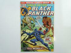 JUNGLE ACTION: BLACK PANTHER # 6 (1973 - MARVEL - Cents Copy) - First appearance of Erik Killmonger,