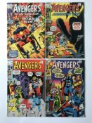 AVENGERS # 89, 90, 91, 92 (Group of 4) - (1971 - MARVEL - Pence Copy) - Run includes classic Captain