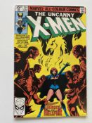 UNCANNY X-MEN # 134 - (1980 - MARVEL Pence Copy) - Black Queen/Phoenix becomes Dark Phoenix +