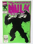 HULK # 377 (1991 FIRST PRINT - MARVEL - Cents/Pence Copy) - Classic cover - First Professor Hulk +